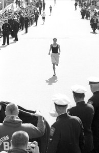 First Woman Boston Marathon
